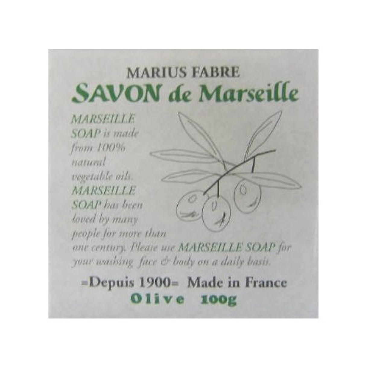 流暢男らしい忙しいサボン ド マルセイユ オリーブ 100g
