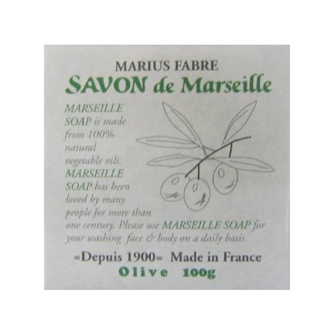 自分を引き上げる放牧する鮮やかなサボン ド マルセイユ オリーブ 100g
