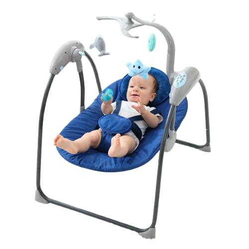 N\C Cama de Juguete Inteligente para niños, Columpio para bebés, Asistente de sueño