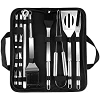 20-Pieces Outry BBQ Barbecue Stainless Steel Grill Tool Set