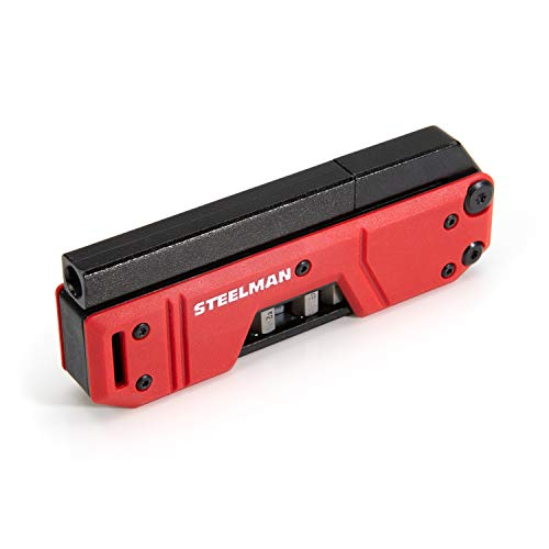 Steelman 10-In-1 Multi-Tip Folding Magnetic Pocket Screwdriver with...