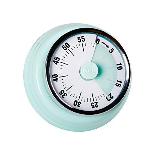 Jayron Recordatorio del Temporizador de Cocina Administre Temporizadores Mecánico Giratorio de 360 Grados Reloj de Alarma de Cuenta Regresiva para Hornear Refrigerador Magnético Cocinar,Aprender