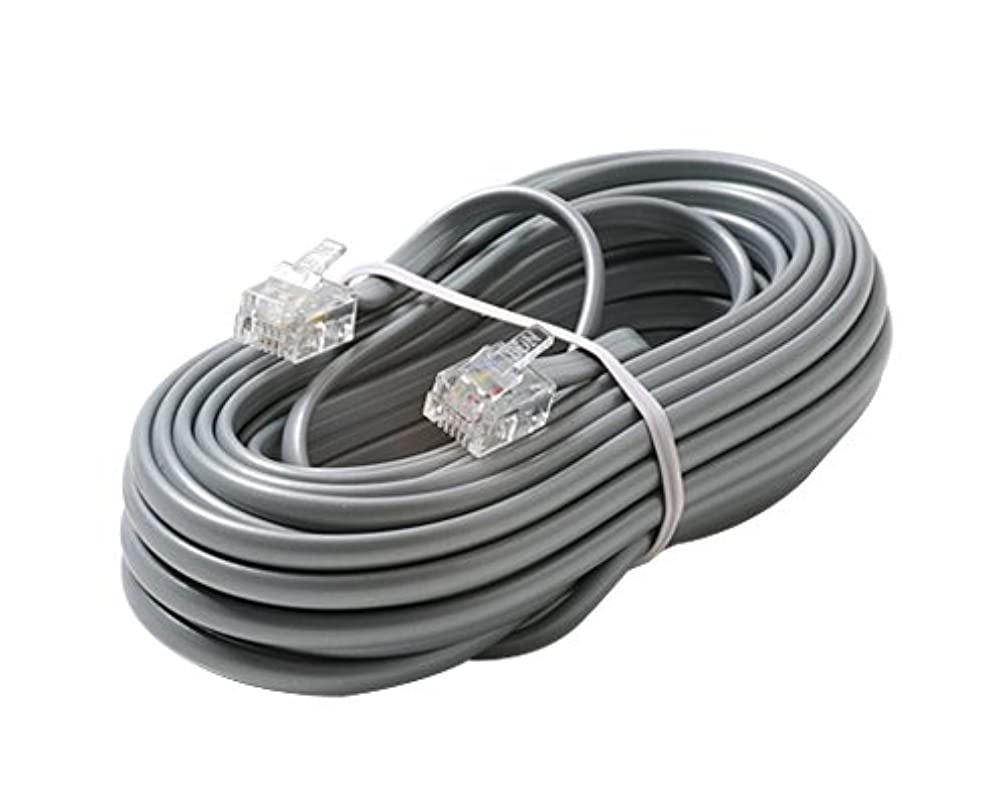 Steren 306-015SL 6C 15-Feet Modul Rated Line Cord Cable