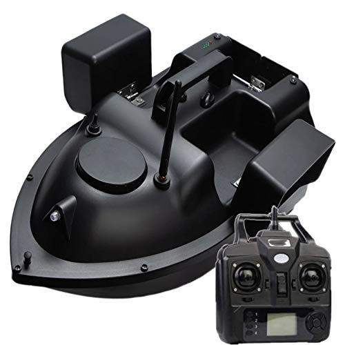 FDYD RC Fishing Bait Boat 500m Distance GPS Postion Auto Cruise Remote Control Fishing Bait Boat with Three Storage Control ablel Nesting,12000mAh