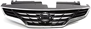 CARPARTSDEPOT NI1200245 10-13 Nissan Altima Coupe 2DR 2.5 Front Bumper Grill Assembly