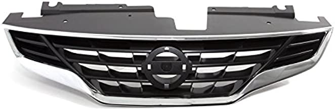 CARPARTSDEPOT NI1200245 Front Bumper Grill Assembly Fit 10-13 Altima Coupe 2DR 2.5