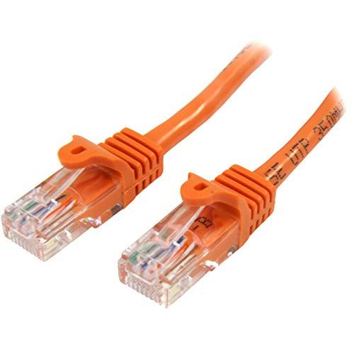 StarTech.com 45PAT1MOR - Cable de Red Fast Ethernet Cat5e RJ45 sin Enganche,...