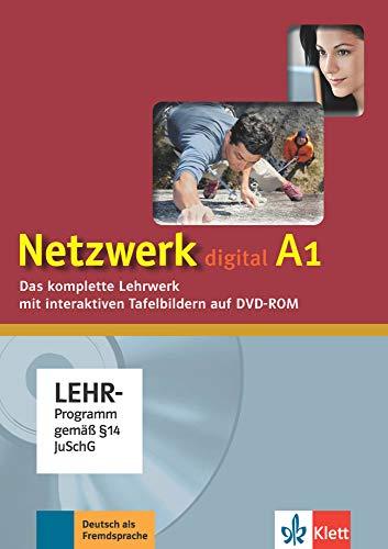 Netzwerk A1: Deutsch als Fremdsprache. Digitales Unterrichtspaket, DVD-ROM (Netzwerk: Deutsch als Fremdsprache)