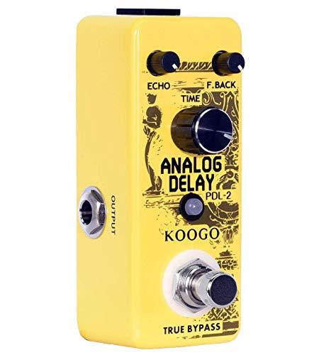 Koogo Analog Phaser Guitar Effect Pedal Vintage/Modern Mode True Bypass