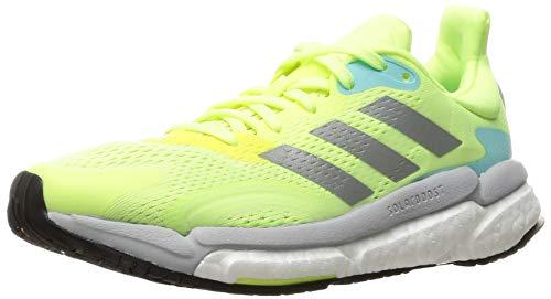 Adidas Solar Boost 21, Zapatos para Correr Mujer, Hireye/Silvmt/Dshgry, 40 EU