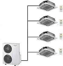 Thermocore T321Q-H263 12X3+24-Cassette 60000 BTU White Ductless Mini Split Area Rug Quad Zone Ceiling