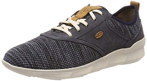 camel active Damen Emotion 71 Sneaker, Blau (Jeans/Avio 3), 39 EU