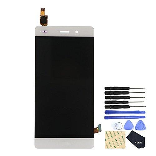 """VEKIR Sostituzione Schermo Schermo Digitizzatore Schermo Display per Huawei P8 lite ALE-L21 5.0""""(white) NOT FOR VERSION:Huawei P8 Lite (2017) 5.2"""""""