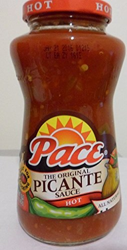 Pace The Original Picante Sauce Hot 16 Oz (Pack of 6)