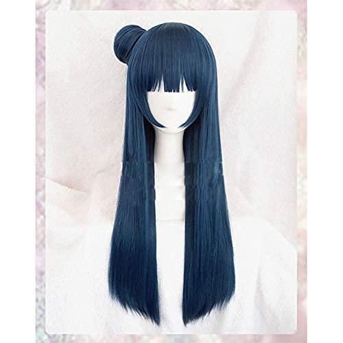 Seupeak LoveLive Sunshine Tsushima Yoshiko Peluca Cosplay Costume Love Live Aqour Yohane Mujeres Sintético Hair Halloween Pelaje Pelucas