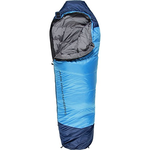 ALPS Mountaineering Quest 20 Down Sleeping Bag: 20F Down Blue, Regular