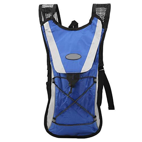VGEBY Radsport-Trinkrucksack, Leichter wasserdichter Polyester-Trinkrucksack 2L, tragbarer Outdoor-Sport-Wasserrucksack für Radsport-Laufcamping