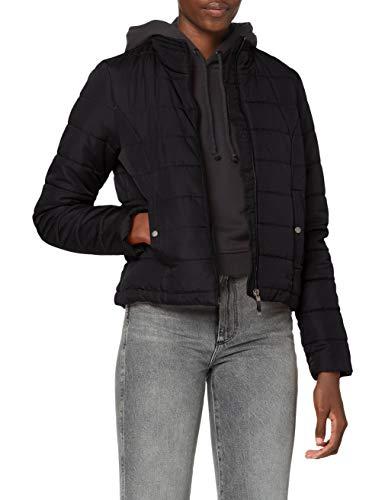 Vero Moda VMSIMONE AW20 Short Jacket GA Boos Chaqueta, Negro, L para Mujer