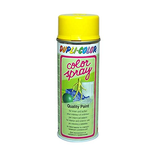 Dupli-Color 585005 Color-Spray, 400 ml, Gelb Glanz 1021
