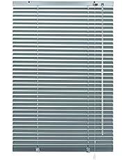 Deco Company - Persianas (Aluminio, 120 x 175 cm), Color Azul