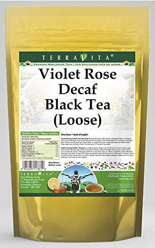 Special price for a limited time Violet Rose Decaf Bargain sale Black Tea Loose 4 2 oz - 541535 ZIN: Pack
