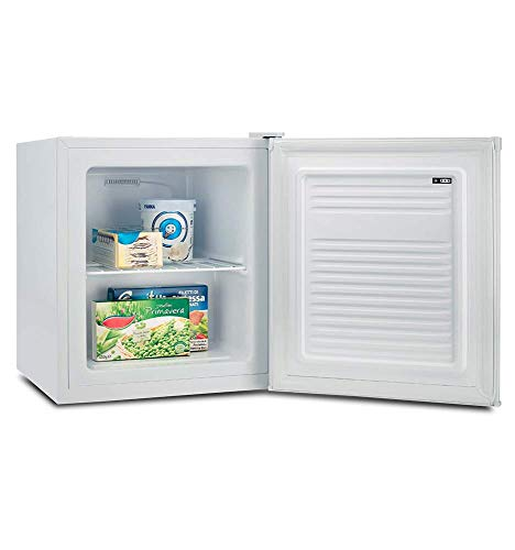 CONGELADOR VERTICAL CV-1750 BLANCO INFINITON (A+, 30L, Puerta reversible, Termostato regulable, Independiente)