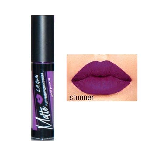 (6 Pack) L.A. GIRL Matte Pigment Gloss - Stunner