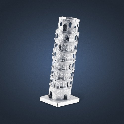 ICONX - Leaning Tower of Pisa - 3D Metal Model Kits