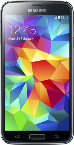 Samsung Galaxy S5 Smartphone, Display 5.1 Pollici, Processore Quad-Core 2,5 GHz, RAM 2GB, Memoria Fotocamera 16MP, Android 4.4, Nero [Germania]