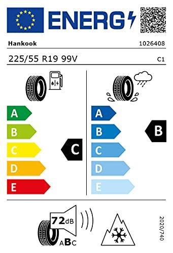 NEUMÁTICO HANKOOK WINTER I CEPT EVO3 X W330A 225 55 R19 99V INVIERNO TL M+S 3PMSF MFS PARA 4X4