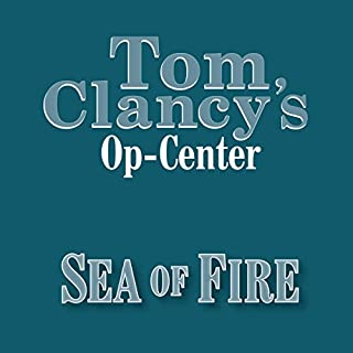 Sea of Fire audiobook cover art