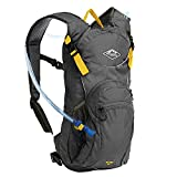 Hydration Backpack by Mountain Designs - 10L Leakproof Hiking Backpack has Large Compartments and 3L Water Bladder - Running Backpack and Cycling Backpack is a Camping Accessories Must.