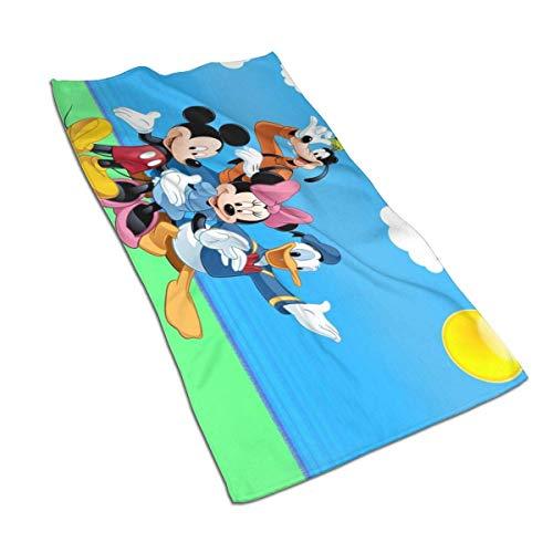 Aoyutiy Handdoeken - Donald Duck Mickeys-Mouses en Goofy Zachte en Absorberende Handdoek 27.5
