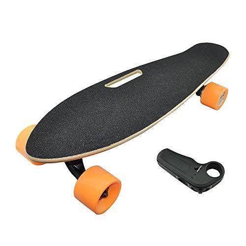 Dapang Universal Elektrisches Skateboard, 250W Motor Mini Standard Board für Jugend, 18km/h Top Speed Cruise Motorized - Fit Alle Boards! In Ihre Tasche stecken,Schwarz