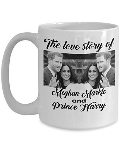 Boda Real del Príncipe Harry y Meghan Markle - Taza de Harry...