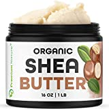 Shea Butter Raw Organic African - 16 oz Pure Virgin...
