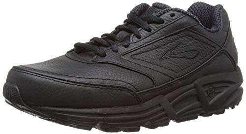 Brooks Womens Addiction Walker Walking Shoe - Black - D - 8.5