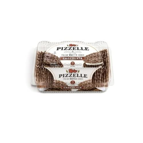 Reko Chocolate Pizzelle Cookies (Case of 12)