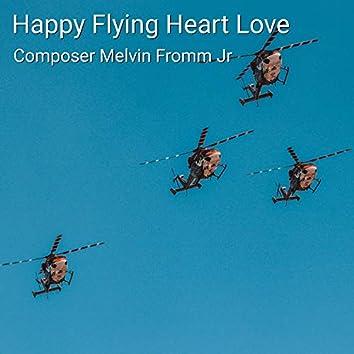 Happy Flying Heart Love