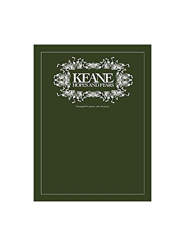 Keane: Hopes And Fears. Partitions pour Piano, Chant et Guitare(Boîtes d\'Accord)