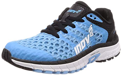 Inov-8 Womens Roadclaw 275 V2 - Road Running Shoes - Versatile Shoe for Road, Parks and Tracks - Blue/Black 9 W US