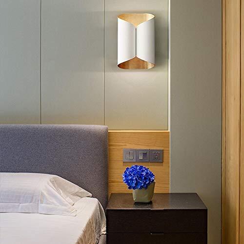 LFK Creative Living Room - Sofá Blanco For Dormitorio, Junto A La Cama, Junto A La Lámpara De Pared De Diseño del Estudio