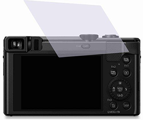 4ProTec I 2X ANTIREFLEX matt Schutzfolie für Panasonic Lumix DMC-TZ81 Premium Displayschutzfolie Bildschirmschutzfolie Schutzhülle Displayschutz Displayfolie Folie