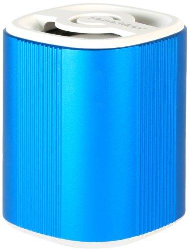 MusicMan 4239 BT-X4 Grenade Bluetooth Soundstation Lautsprecher (microSD-Kartenslot, 3,5mm Buchse, 3 Watt, USB) blau