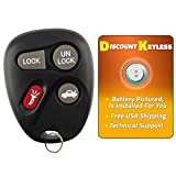 Discount Keyless Replacement Key Fob Car Remote Compatible with LHJ009, 22692190, 24401698