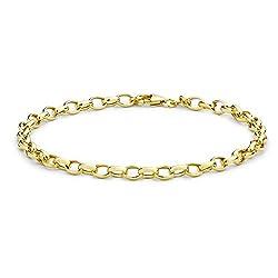 Carissima Gold Damen - Armband 9k Rundschliff einfach 1.24.0692