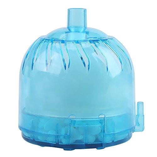 Aquarium luchtfilter biochemische spons actieve koolfilter onder water geventileerde zuurstof geeft aquarium vijver biochemisch steen spons hoekfilter vrij
