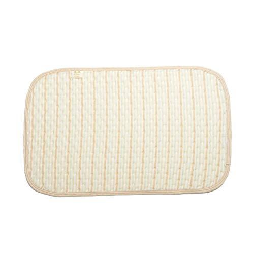 Kongqiabona-UK Multicolore Stripe Coton Coloré Organique Couche Imperméable Bébé Matelas à Langer Changement d'Urine Pad Draps de Lit pour Nouveau-Né