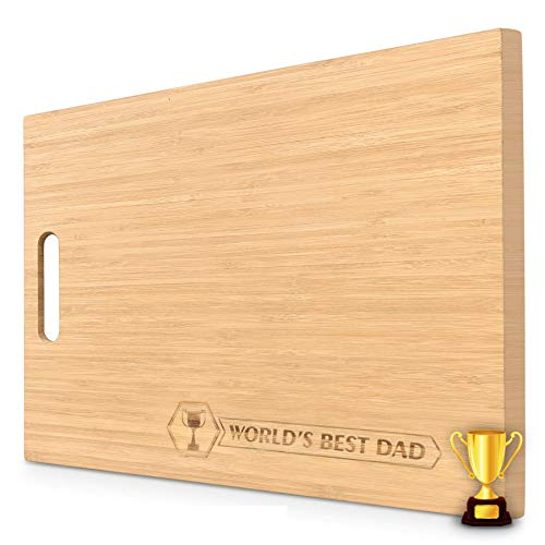 Sophie & Panda Organic Bamboo Personalized Cutting Board - Let your loved ones know how you feel...