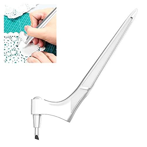 buycheapDG(JP)クラフト 切削工具 360度回転 ステンレス ホビー アート切削工具 スクラップブッキング 切り絵 クラフト切削工具 カット ナイフ 替え刃 刃*3サイズ